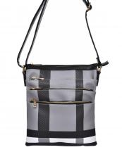 BL1026(BKBK)-wholesale-messenger-bag-plaid-zippered-pocket-checkered-faux-leatherette-compartment-crossbody-gold(0).jpg