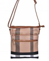 BL1026(BRBR)-wholesale-messenger-bag-plaid-zippered-pocket-checkered-faux-leatherette-compartment-crossbody-gold(0).jpg