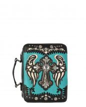 BL13502W114LCR(TQ)-wholesale-bible-case-cover-cross-medallion-wings-rhinestone-silver-stud-concho-stitch-cut-out(0).jpg