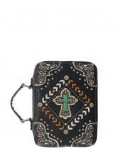 BL13502W138LCR(BK)-wholesale-bible-case-cover-cross-turquoise-silver-embroidered-rhinestones-stud-concho-stitch-chevron(0).jpg
