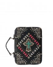 BL13502W138LCR(BKHPK)-wholesale-bible-case-cover-cross-turquoise-silver-embroidered-rhinestones-stud-concho-stitch-chevron(0).jpg