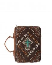 BL13502W138LCR(BR)-wholesale-bible-case-cover-cross-turquoise-silver-embroidered-rhinestones-stud-concho-stitch-chevron(0).jpg