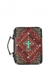 BL13502W138LCR(RD)-S23-wholesale-bible-case-cover-cross-turquoise-silver-embroidered-rhinestones-stud-concho-stitch-chevron(0).jpg