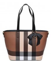 BL5607(BRBK)-wholesale-handbag-plaid-checkered-pattern-ribbon-bow-gold-metal-ring-faux-leatherette-pocket-divider(0).jpg