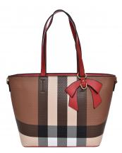 BL5607(BRRD)-wholesale-handbag-plaid-checkered-pattern-ribbon-bow-gold-metal-ring-faux-leatherette-pocket-divider(0).jpg