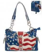 BOA8469(BL)-wholesale-handbag-american-flag-usa-stars-striped-rhinestones-concealed-western-tiara-belt-buckle(0).jpg