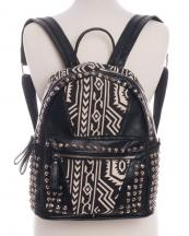 BP105T(BK)-wholesale-backpack-studs-studded-floral-alligator-aztec-tribal-faux-leather-fabric-southwestern(0).jpg