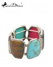 BR07062905(MUL)-MW-wholesale-montana-west-bracelet-wide-black-onyx-turquoise-jasper-genuine-stretch-fit(0).jpg