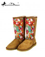 BST034(BR)-Size(8)-MW-wholesale-montana-west-boots-faux-suede-fur-rhinestones-studs-embroidered-floral-multicolor-braided(0).jpg