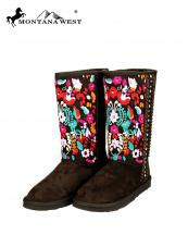 BST034(CF)-Size(9)-MW-wholesale-montana-west-boots-faux-suede-fur-rhinestones-studs-embroidered-floral-multicolor-braided(0).jpg