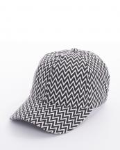 CAP00158(BK)-wholesale-cap-hat-chevron-zigzag-multi-color-embroiderable(0).jpg