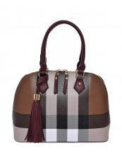 CH1208(BRBUR)-wholesale-handbag-plaid-checkered-pattern-tassel-faux-leatherette-gold-hardware-two-tone-color(0).jpg