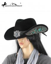 CHT9015(BK)-(Size-S)-MW-wholesale-montana-west-hat-cowgirl-fur-felt-concho-floral-rhinestone-turquoise-shapeable-western(0).jpg