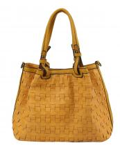 CJF107(YL)-wholesale-bag-double-braided-zipper-pocket-leatherette-woven-solid-color(0).jpg