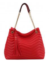CTL0019(RD)-wholesale-handbag-chevron-tassel-vegan-leather-gold-chain-solidcolor-adjustable-handle-fringe-emboss(0).jpg