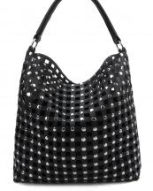 CV003(BK)-wholesale-handbag-leatherette-cut-out-square-double-layered-bag-rhinestone-silver-studs-drawstring(0).jpg