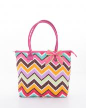 CW302(MULTIFUS)-wholesale-handbag-quilt-quilted-chevron-fabric-embroiderable-bow-ribbon-poket-multi-color(0).jpg