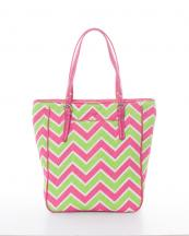 CW305(LM)-wholesale-handbag-tote-bag-quilt-quilted-chevron-fabric-embroiderable-buckle-poket-multi-color(0).jpg
