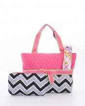 CW601(BKFUS)-wholesale-handbag-diaper-bag-quilt-quilted-chevron-fabric-embroiderable-ribbon-changing-pad-pouch(0).jpg