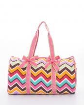 CW703(MULFUS)-wholesale-travel-duffle-bag-chevron-zipper-quilt-quilted-fabric-embroiderable-bow-ribbon(0).jpg