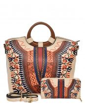 D0427W(BG)-wholesale-handbag-wallet-2pc-set-tribal-southwestern-ethnic-pattern-multi-color-wood-handle-vegan-(0).jpg