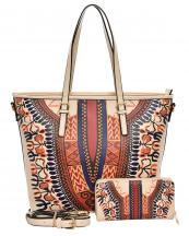 D0428W(BG)-wholesale-handbag-wallet-2pc-set-tribal-southwestern-ethnic-pattern-multi-color-vegan-leather-belt--(0).jpg