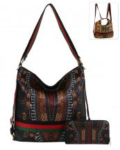 D0441W(BK)-wholesale-handbag-wallet-backpack-convertible-dashiki-stripe-multicolor-ethnic-gold-vegan-leather(0).jpg