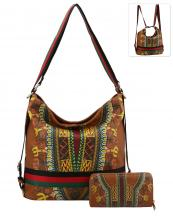 D0441W(BR)-wholesale-handbag-wallet-backpack-convertible-dashiki-stripe-multicolor-ethnic-gold-vegan-leather(0).jpg