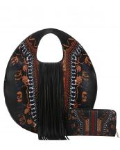 D0442W(BK)-wholesale-handbag-wallet-set-dashiki-fringe-egg-shaped-ethin-multicolor-vegan-leather-southwestern(0).jpg