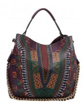 D0443(PP)-wholesale-handbag-dashiki-ethnic-pattern-multicolor-gold-chain-strap-stitch-belt-buckle-vegan-tribal(0).jpg