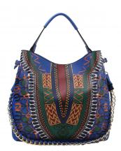 D0443(RBL)-wholesale-handbag-dashiki-ethnic-pattern-multicolor-gold-chain-strap-stitch-belt-buckle-vegan-tribal(0).jpg