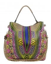 D0443(ST)-wholesale-handbag-dashiki-ethnic-pattern-multicolor-gold-chain-strap-stitch-belt-buckle-vegan-tribal(0).jpg