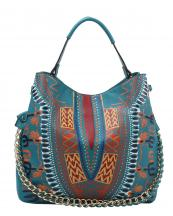 D0443(TL)-wholesale-handbag-dashiki-ethnic-pattern-multicolor-gold-chain-strap-stitch-belt-buckle-vegan-tribal(0).jpg