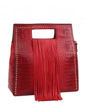 D0473(RD)-wholesale-handbag-alligator-ostrich-animal-pattern-vegan-leatherette-long-fringe-gold-stud-solid(0).jpg