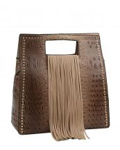 D0473(TAN)-wholesale-handbag-alligator-ostrich-animal-pattern-vegan-leatherette-long-fringe-gold-stud-solid(0).jpg