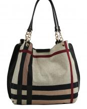 D0482N(MUL1TP)-wholesale-handbag-plaid-checkered-pattern-woven-linen-vegan-leatherette-multicolor-gold-chain-black(0).jpg