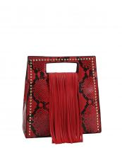 D0499(RD)-wholesale-handbag-fringe-snake-animal-pattern-vegan-leatherette-faux-gold-studs-fashion(0).jpg