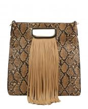 D0519(BR)-wholesale-handbag-fringe-snake-animal-pattern-vegan-leatherette-gold-hardware-metal-handle-pleated(0).jpg