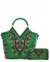 DAS15625W(GN)-wholesale-handbag-wallet-2pc-set-dashiki-multi-color-southwestern-gold-metal-frame-rhinestones-v(0).jpg