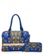 DAS15627W(BL)-wholesale-handbag-wallet-2pc-set-dashiki-multi-color-southwestern-gold-metal-frame-compartments(0).jpg