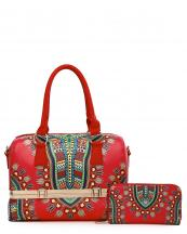 DAS15627W(RD)-wholesale-handbag-wallet-2pc-set-dashiki-multi-color-southwestern-gold-metal-frame-compartments(0).jpg
