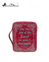 DC018OT(RD)-MW-wholesale-bible-case-cover-montana-west-western-stud-rhinestone-verse-nehemiah-8:10-cut-out-pattern(0).jpg