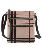 DX0073(MUL8BS)-wholesale-messenger-bag-plaid-checkered-woven-linen-vegan-leatherette-crossbody-zipper-pocket(0).jpg