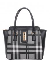 E0043(BK)-wholesale-handbag-leatherette-faux-leather-plaid-gold-tone-metal-shoulder-strap-pocket-divider-twist(0).jpg