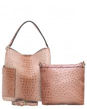 F0222(BS)-S21-wholesale-handbag-2pc-set-pouch-bag-alligator-ostrich-animal-pattern-vegan-leather-pocket-zipper(0).jpg