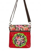 F2003(RD)-wholesale-rhinestone-patent-messenger-bag-floral-quilt-(0).jpg