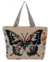 FC0011(BG)-wholesale-fashion-beach-tote-bag-fabric-canvas-graphic-butterfly-floral-woven-multi-color-stripe(0).jpg