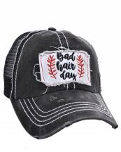 FWCAPM732(BK)-wholesale-cap-mesh-bad-hair-day-floral-leaves-embroidered-baseball-vintage-torn-stitch-trucker(0).jpg