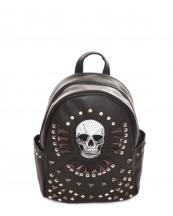 G46SK7(BK)-wholesale-backpack-wallet-skull-pattern-tribal-vegan-pocket-southwestern-color-bag(0).jpg