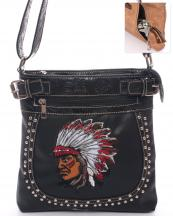 G604SW86(BK)-wholesale-messenger-crossbody-leatherette-studs-native-indian-tooled-floral-carry-gun-buckle-(0).jpg